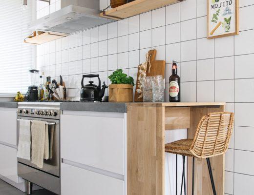 zelf een keukenbar maken